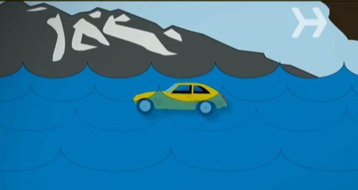 Kako da se spasite iz automobila koji tone