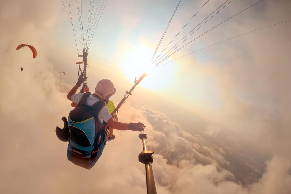 Osećaj potpune slobode i trenutak kada adrenalin nadjača svaki strah