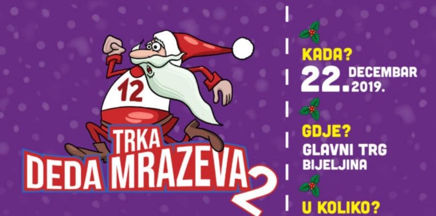Poziv na humanitarnu trku Deda Mrazeva u Bijeljini