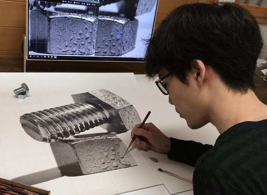 Japanski umetnik je pravi mađioničar sa olovkom
