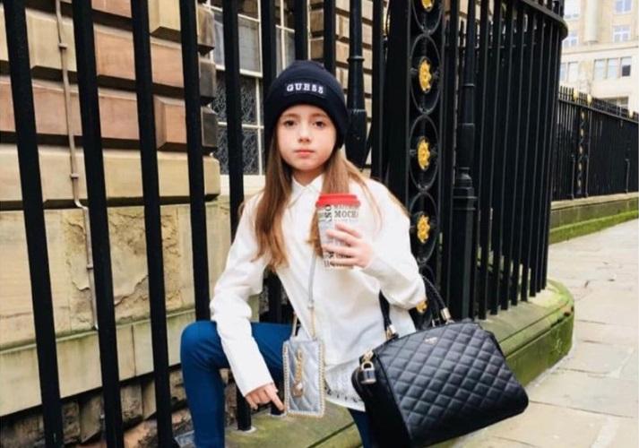Devetogodišnjakinja oko koje se bore svi modni brendovi