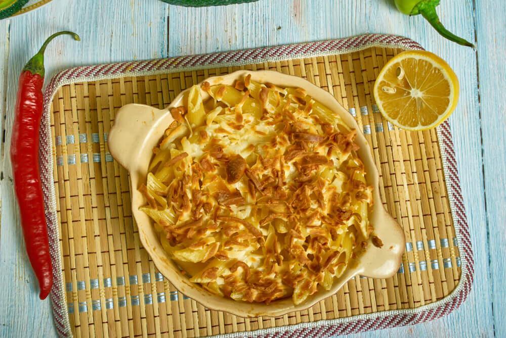 Recept dana: Bela pita od makarona