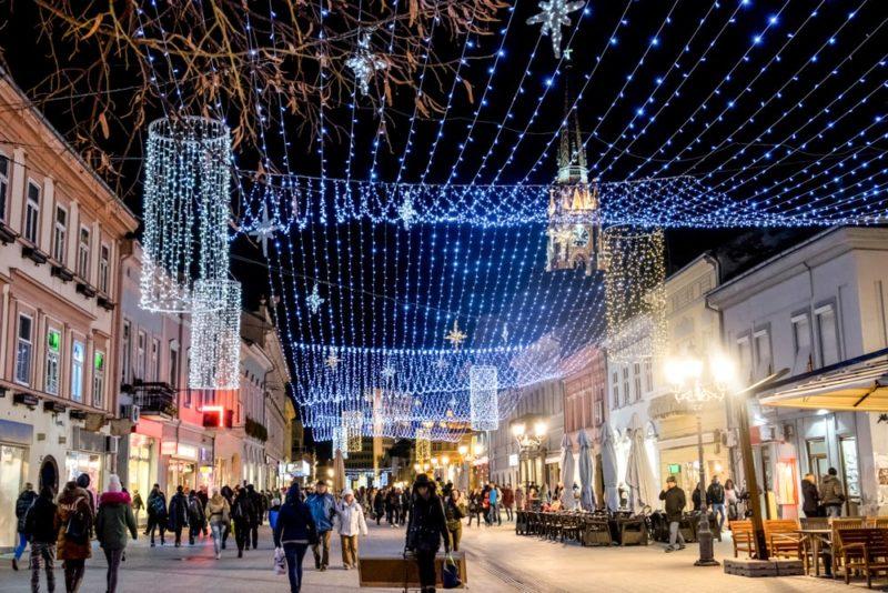 Grad iz Srbije se takmiči za najbolji božićni market u Evropi 🎄