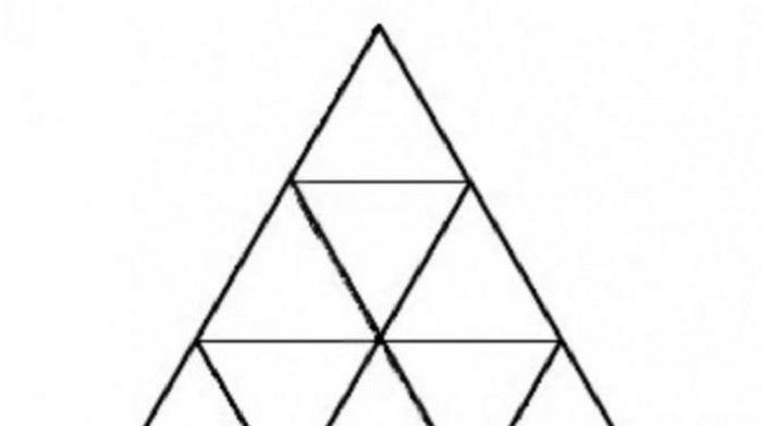 Koliko trouglova možete da pronađete na slici?