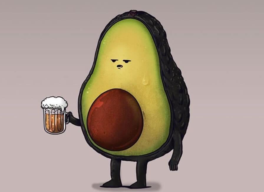 Zabavne ilustracije voća i povrća sa kojima možemo da se poistovetimo