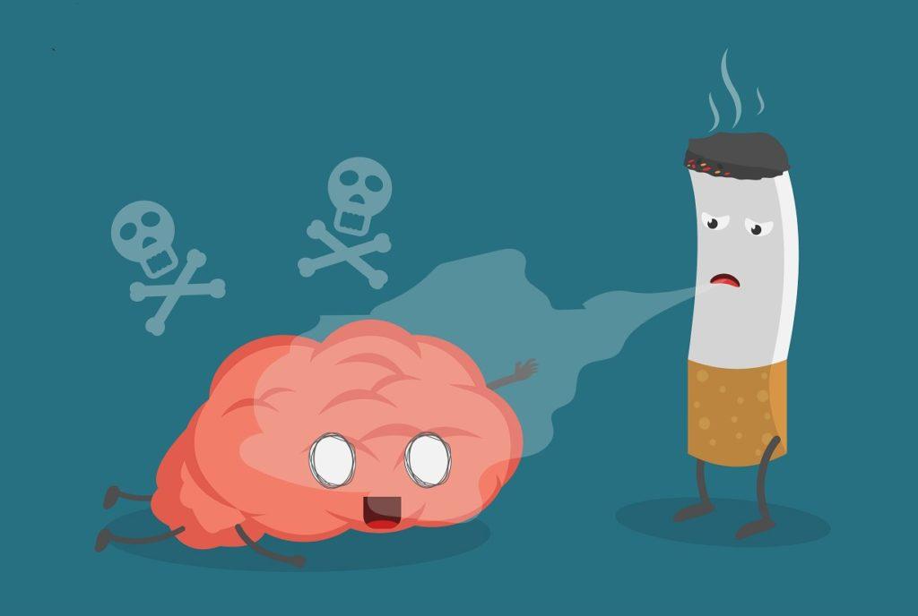 pusenje i mozak