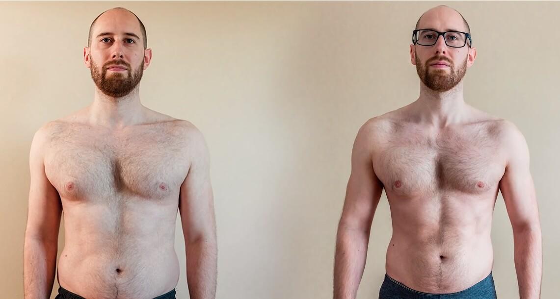 Evo što je mesec dana intenzivnog posta uradilo telu ovog muškarca