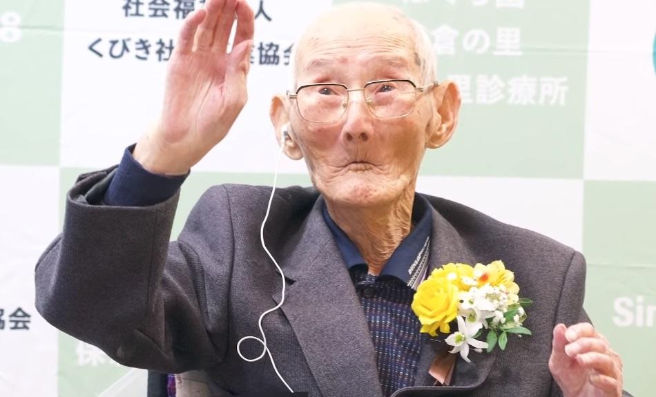On je zvanično najstariji čovek na svetu!