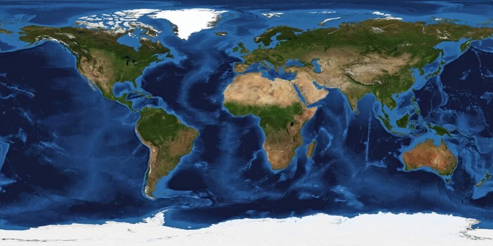 Evo kako bi izgledala Zemlja bez okeana 🌍