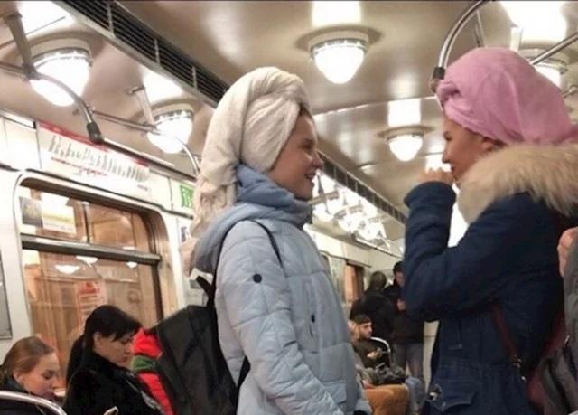 Fotografije Rusa u javnom prevozu su sve samo ne obične