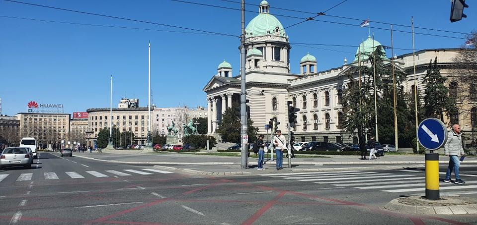 Kako izgleda Beograd u vanrednom stanju?