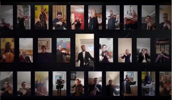 """""""Bella Ciao"""" u izvođenju orkestra Srpskog narodnog pozorišta je najlepša stvar"""
