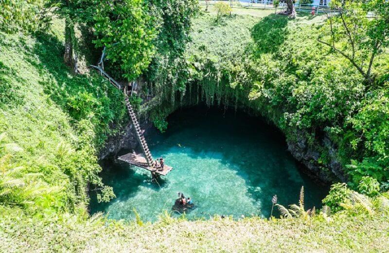Tosua – najlepši prirodni bazen na svetu