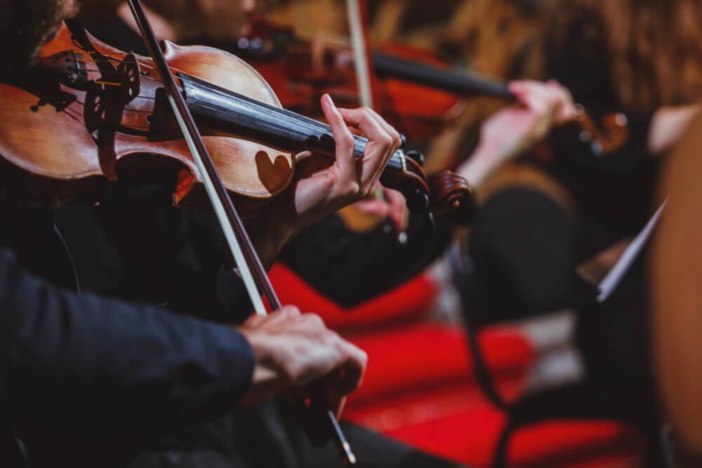 Violinista održao koncert u bolnici za zaražene koronavirusom