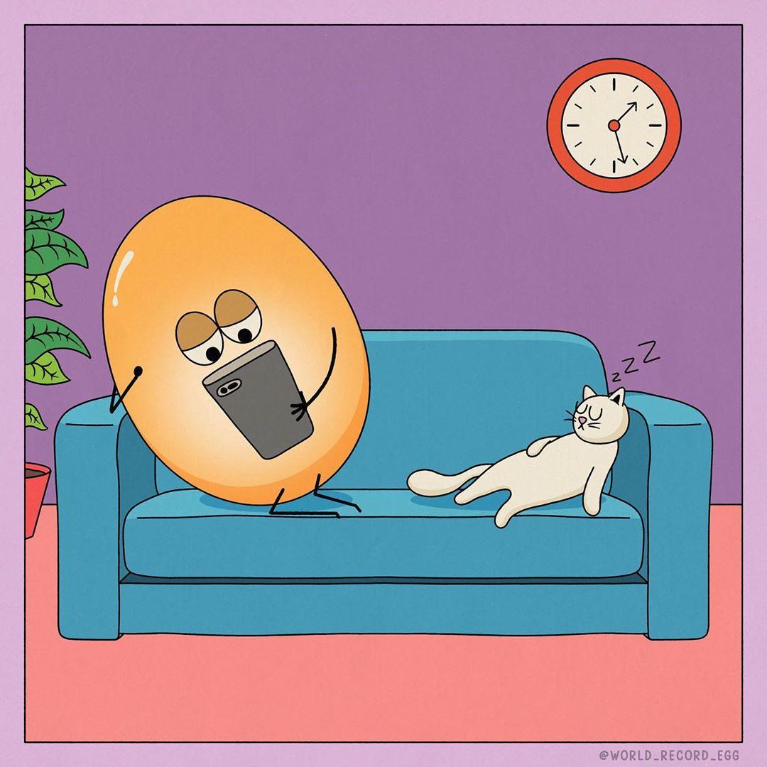 Kako najpoznatije jaje na svetu provodi dane u karantinu?