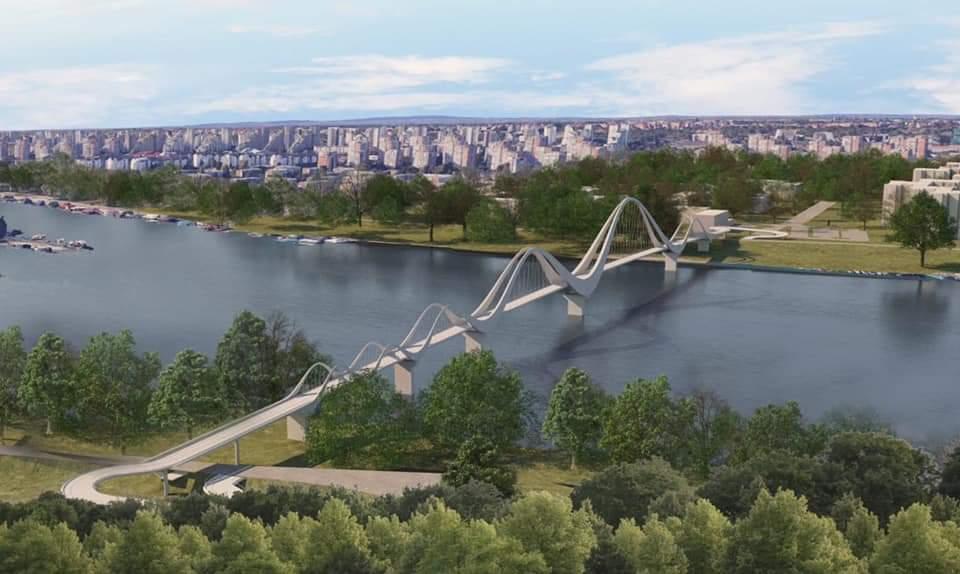 Most za pešake umesto broda od Novog Beograda do Ade