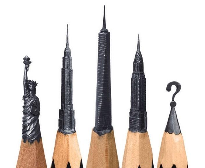 Ruski umetnik pravi fascinantne skulpture na vrhovima grafitnih olovki!