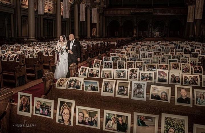 Fotografije najzanimljivijih venčanja koja su održavana u vreme koronavirusa