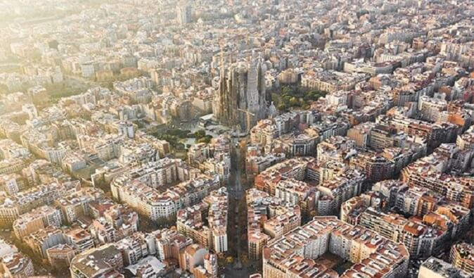 Fotografije Barselone iz ptičje perspektive su zaista vredne pažnje