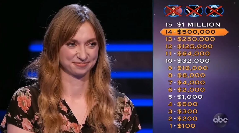 Glumica odustala od pitanja za milion dolara u popularnom kvizu!