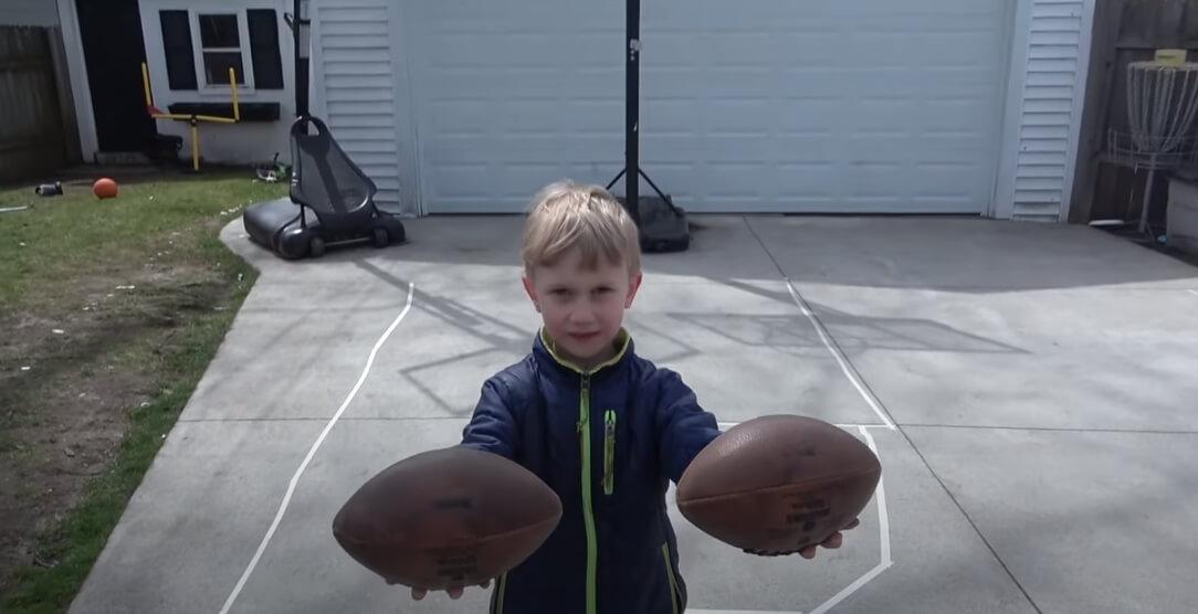 Sedmogodišnji dečak izvodi neverovatne trikove!