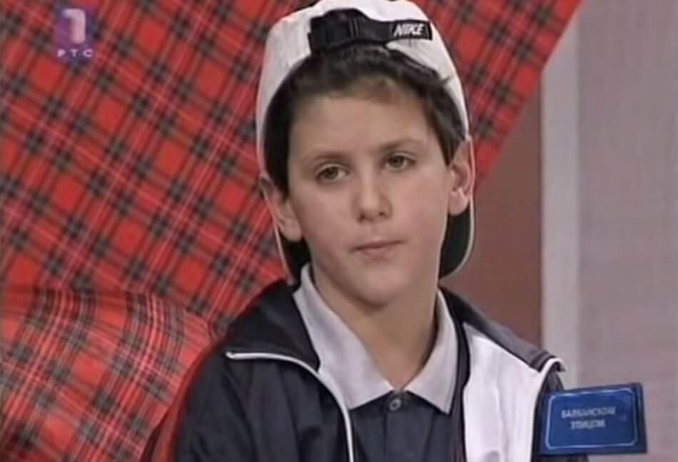 Evo kako je Novak Đoković izgledao sa 4 godine!