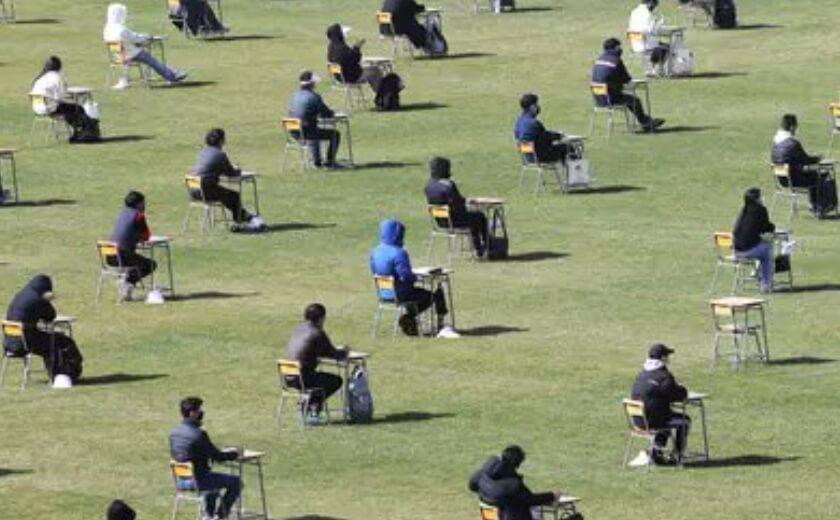 Ovako izgleda polaganje ispita na fudbalskom terenu
