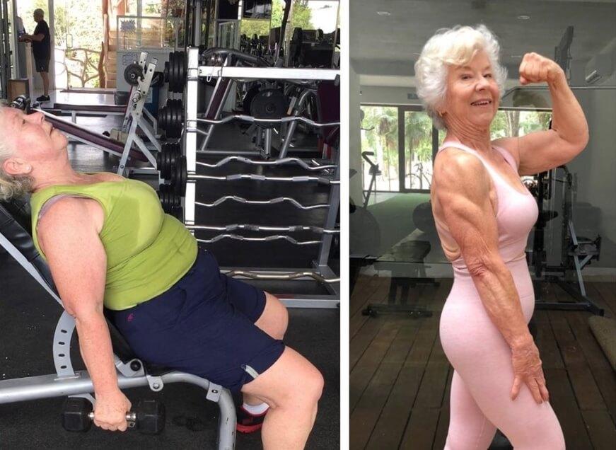 74-godišnja baka pokazala fenomenalnu transformaciju na kojoj joj mnogi zavide