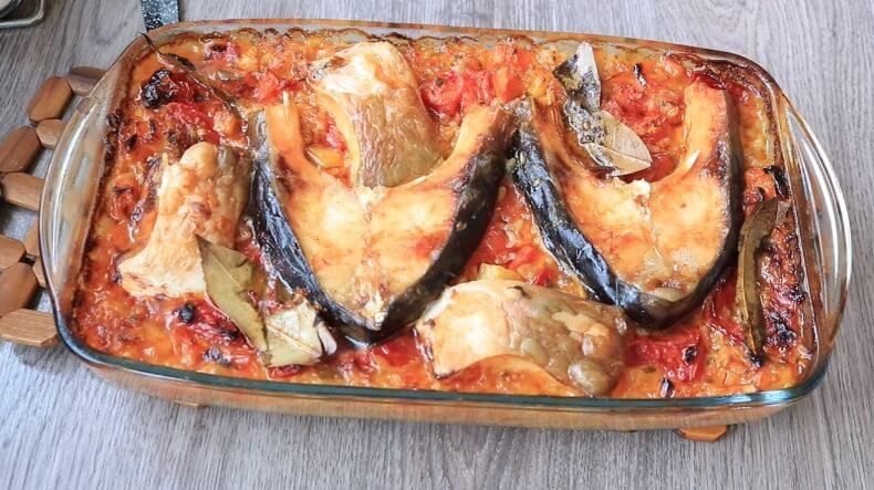 Bakina kuhinja –  šaran na pirinču