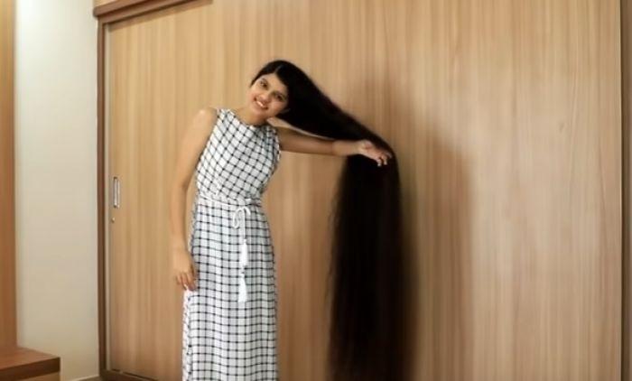Tinejdžerka iz Indije ima najdužu kosu na svetu – evo i zašto se nije šišala