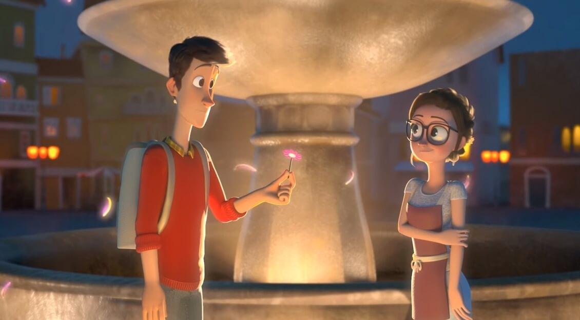 Kratak crtani film za sve zaljubljene i romantične duše