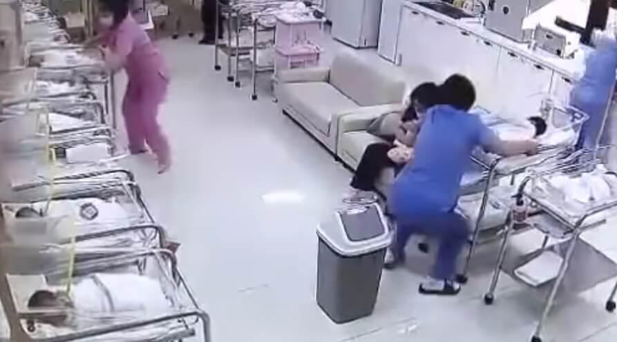 Počeo je zemljotres – reakcija sestara u porodilištu uhvaćena je kamerama