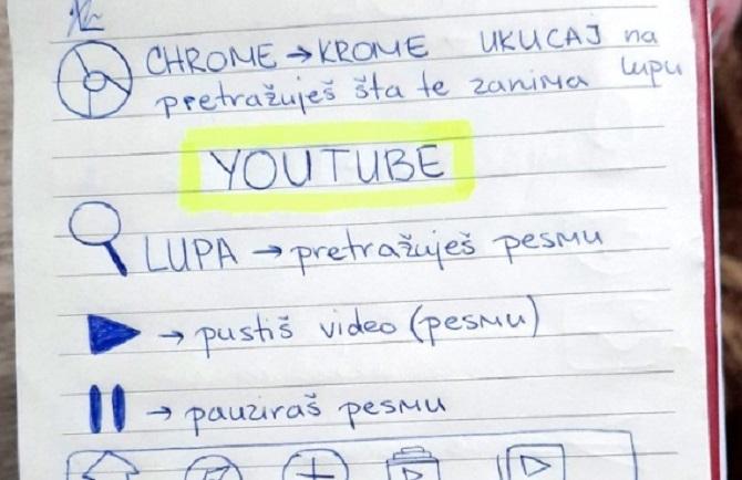 Koliko je ovo divno! Svetlana je svojoj baki napravila uputstvo za korišćenje Vibera i YouTube-a!