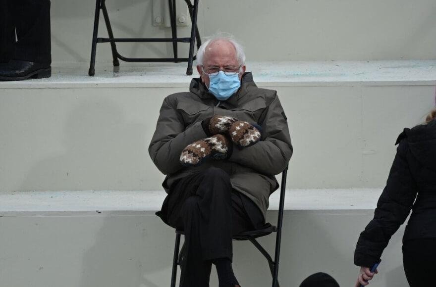 Ukrao šou na inauguraciji – američki političar Berni Sanders glavna tema pošalica na internetu