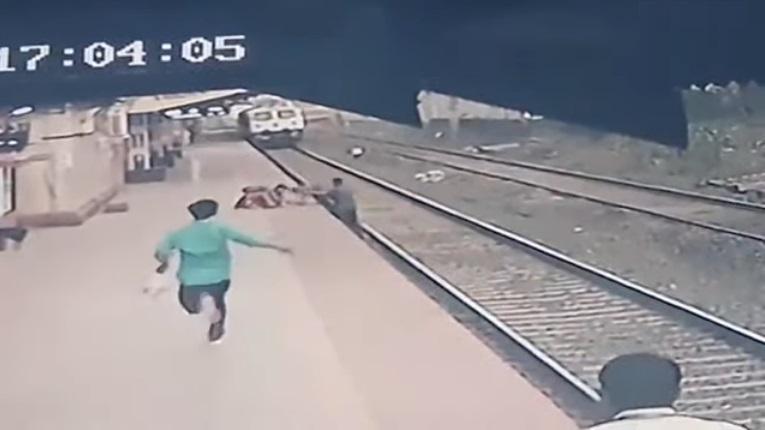 Heroj dana – železničar spasio dete koje je palo na prugu!