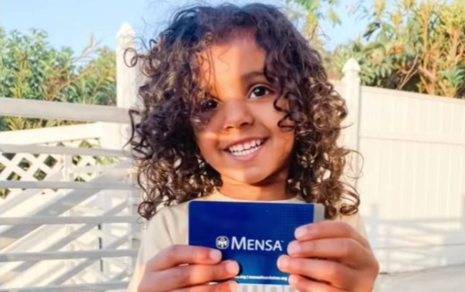 Devojčica Kaše ima dve godine i već je postala član Mense!