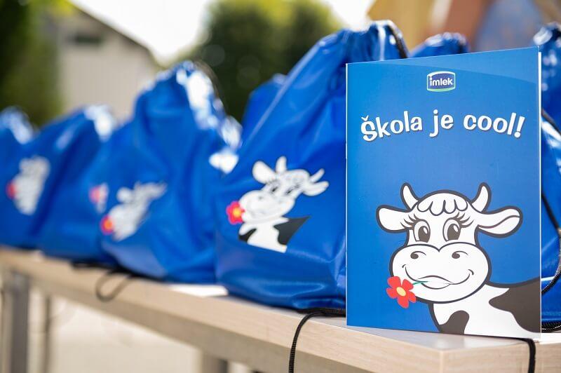 Donacija kompanije Imlek povodom povratka u školske klupe – Moja Kravica i ove godine obradovala najmlađe školarce