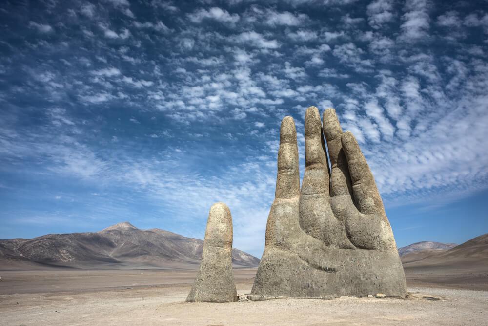 Čemu služi i šta simbolizuje ogromna ruka u divljini Atakame?