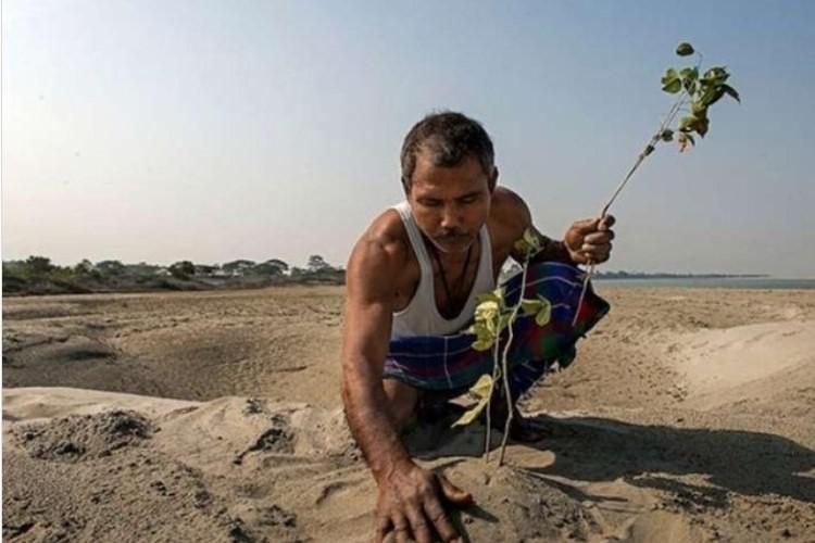 Šumski čovek se zove Jadav Pajeng i posadi svakoga dana po drvo
