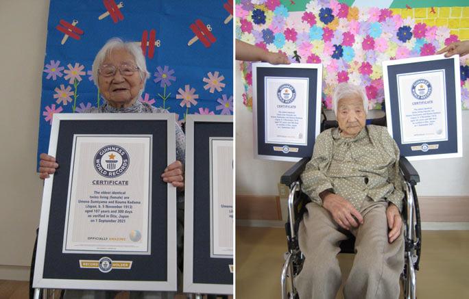 Najstarije bliznakinje – Sestre iz Japana ušle u Ginisovu knjigu rekorda