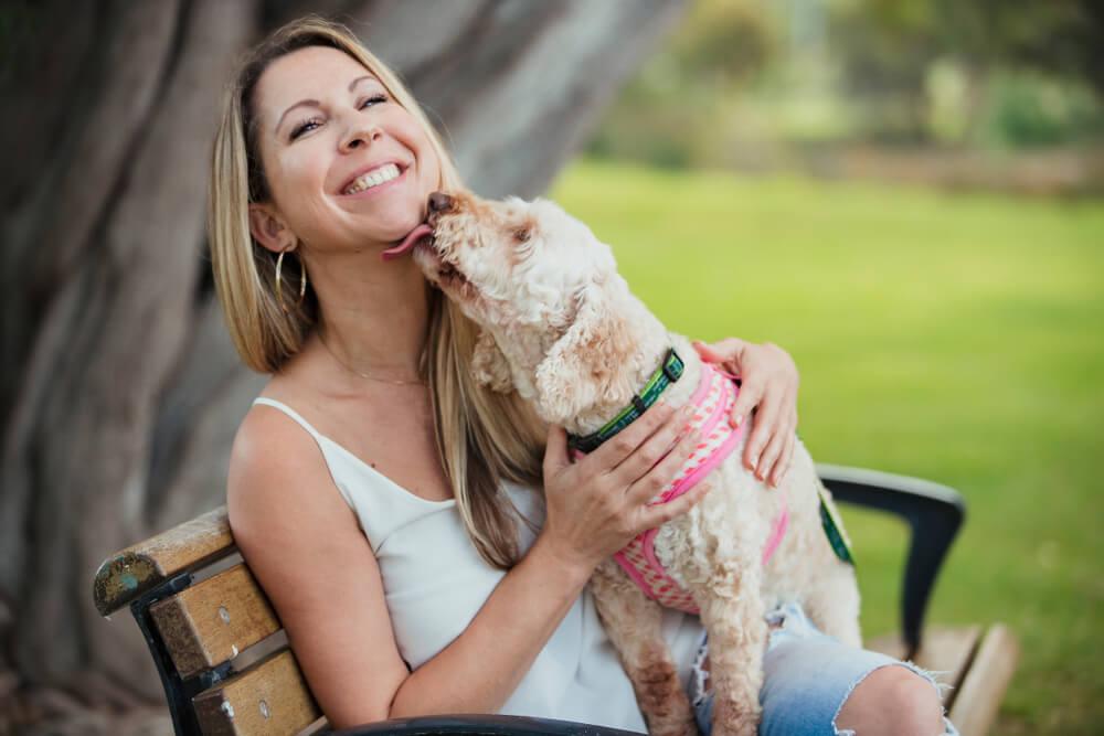 Zašto se često dešava da pas liže vlasnika? Šta nam poručuje?